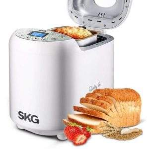 SKG Automatic Bread Machine - Gluten Free Whole Wheat Breadmaker