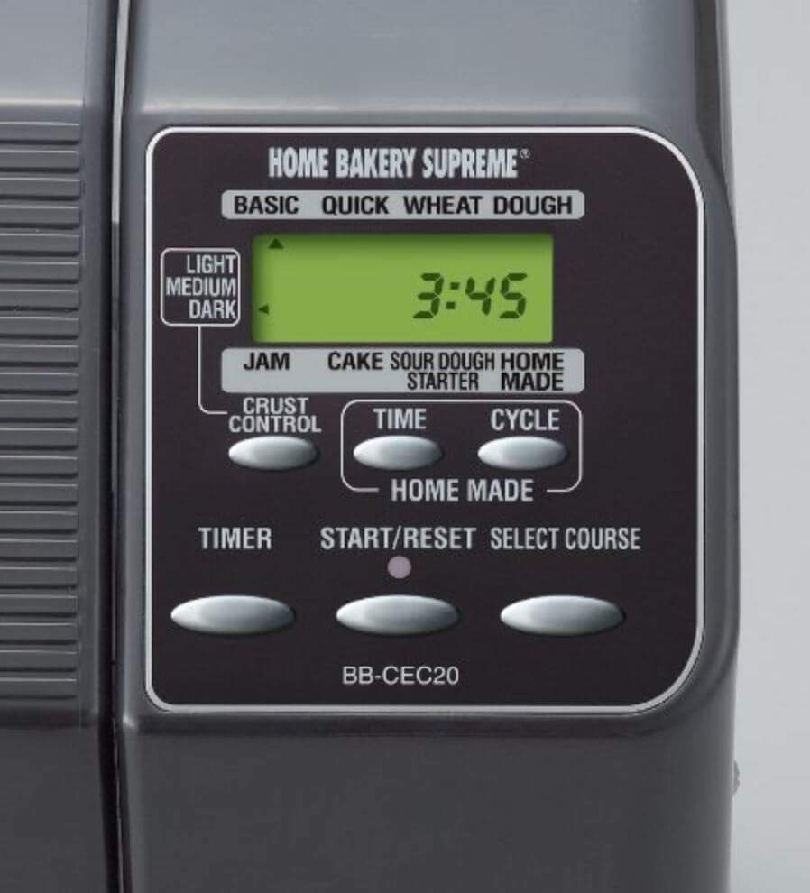 bread machine timer