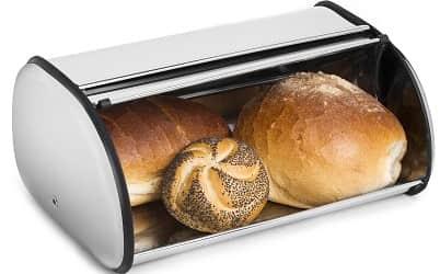 Greenco Stainless Steel Bread Bin Storage Box