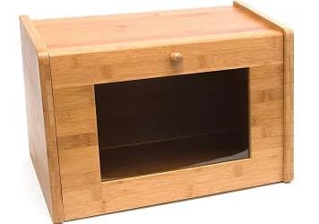 Lipper International 8847 Bamboo Wood Bread Box