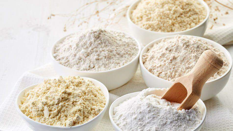 Different Types of Flour for Bread Makers
