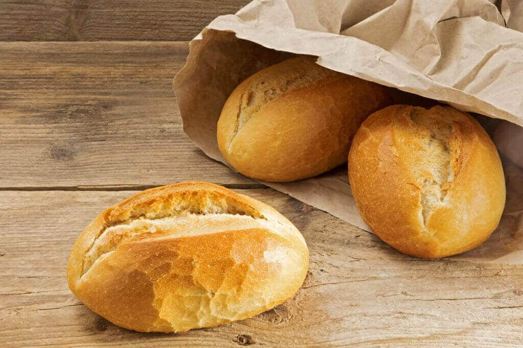 Storing Bread Machine Bread in a Paper Bag