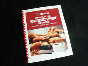 Instruction Manual Bread Machine