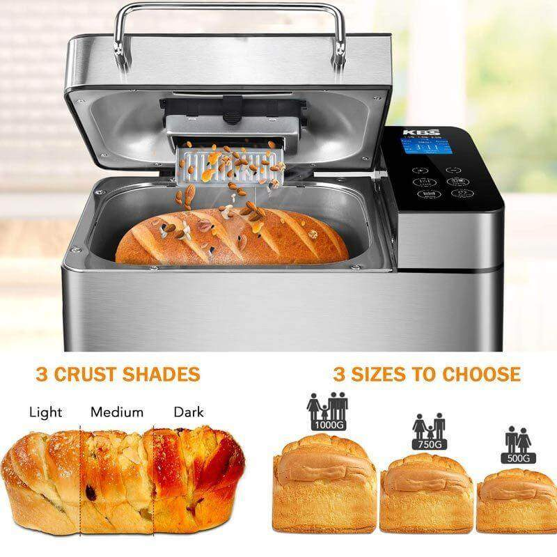 Three Crust Shades KBS Bread Machine