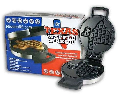 Texas Shaped Waffle Maker