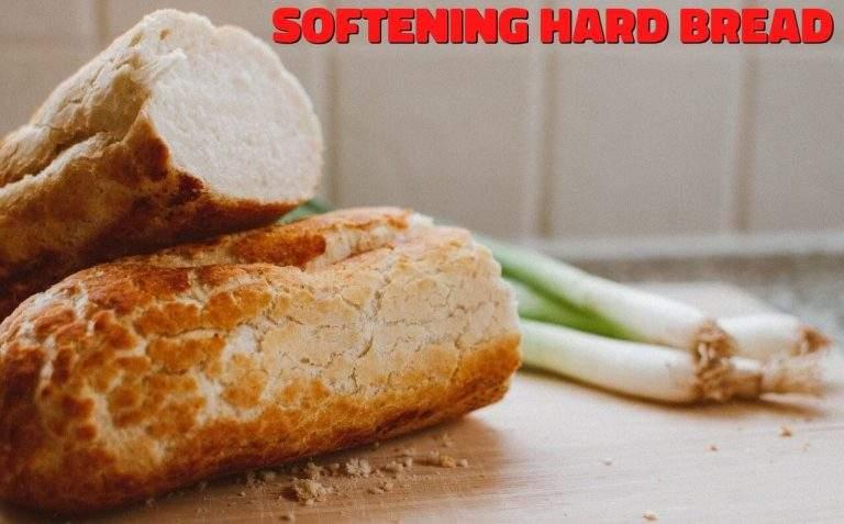 How To Soften Hard Bread